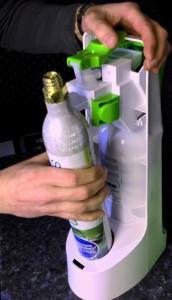 CO2-Zylinder einsetzen