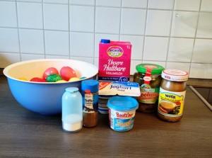 Alle Zutaten für den Eiersalat