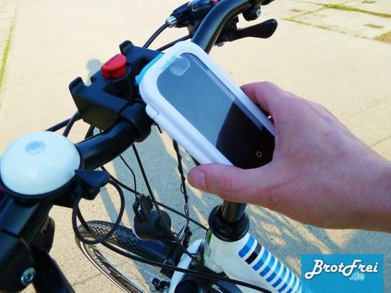 Fertig montiertes Bike Case