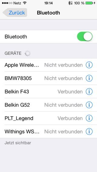 Belkin Bluetooth Empfänger koppeln