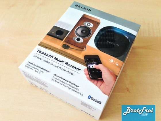 Belkin Bluetooth Music Empfänger