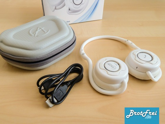 Lieferumfang des Bluetooth Kopfhörer P311