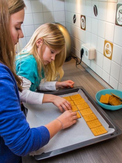 Keks-Boden vorbereiten