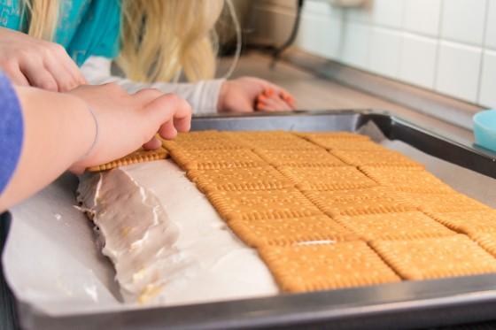 Kekse richtig anrücken und ausrichten