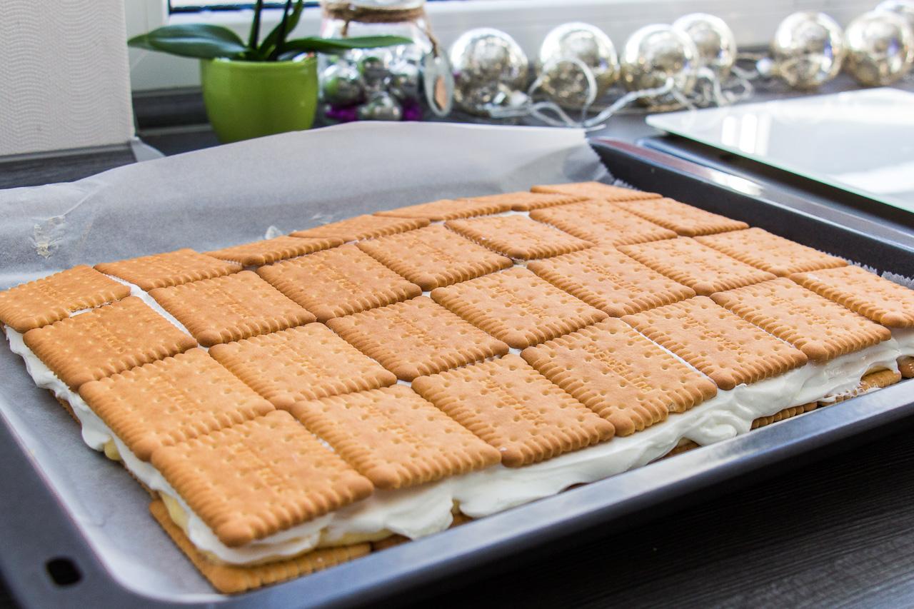 Rezept Fur Einen Kekskuchen Ohne Backen Brotfrei