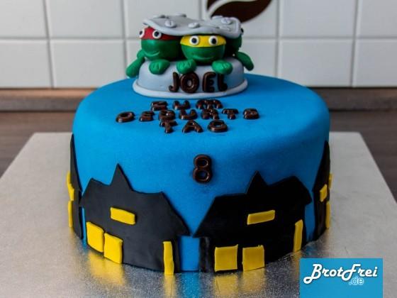 Die fertige Torte