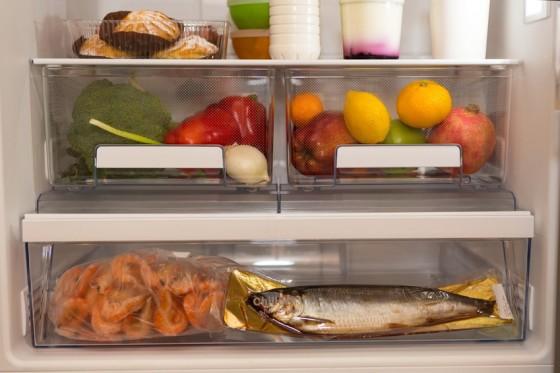 Obst und Gemüse im Kühlschrank lagern