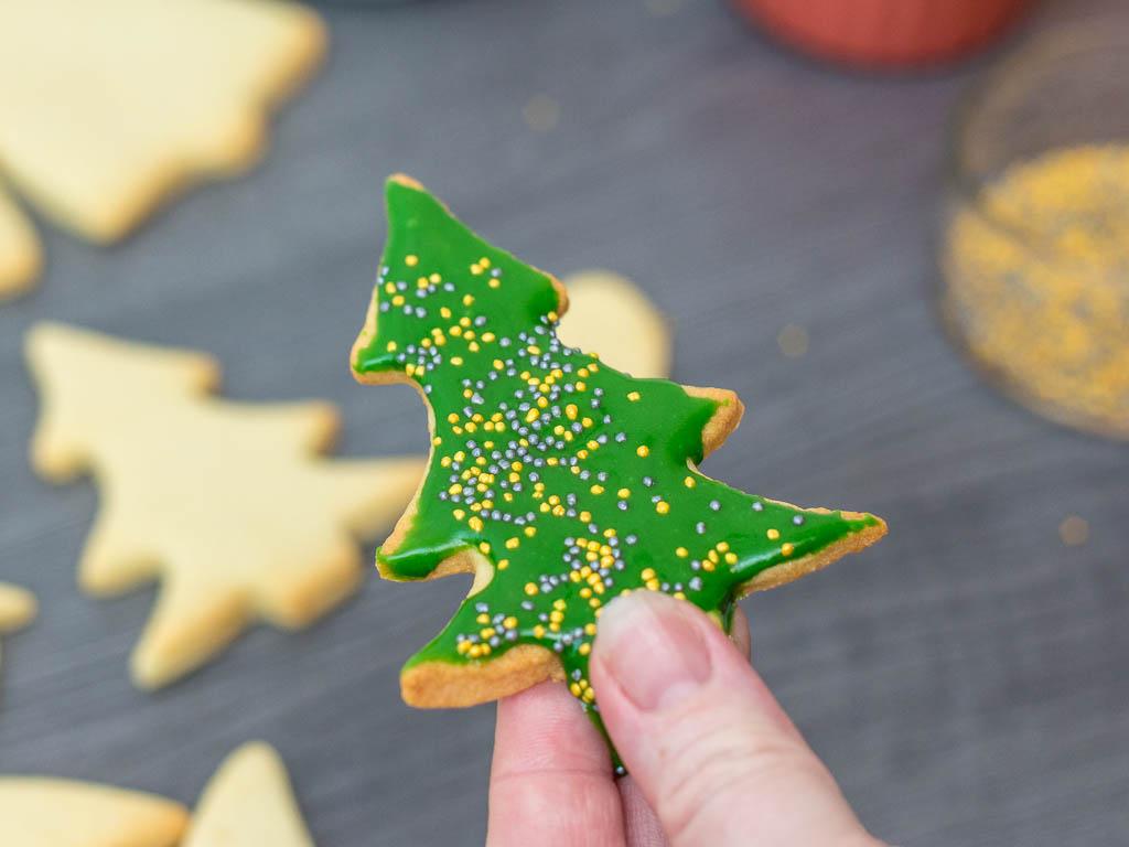 Tannenbaum Aus Plätzchen.Schöne Große Weihnachtsplätzchen Selber Backen Brotfrei