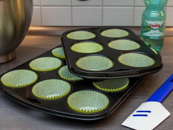 Vorbereitete Muffin-Förmchen