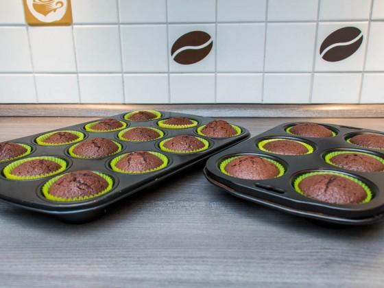 Der fertige Muffin Teig