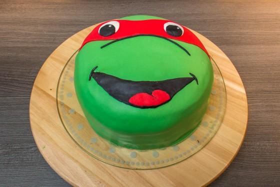 Die fertige Turtel-Torte