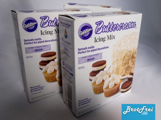 Wilton weiße Buttercreme Packung