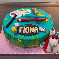 Torte zur Einschulung von Fiona